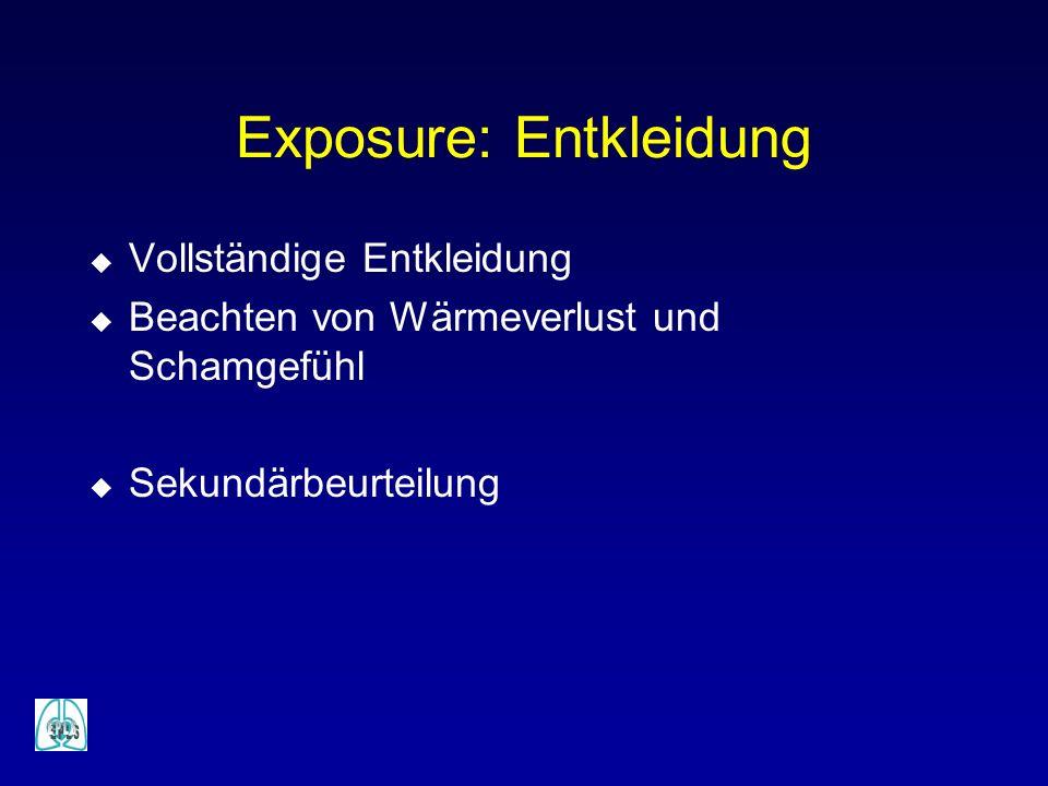 Exposure: Entkleidung