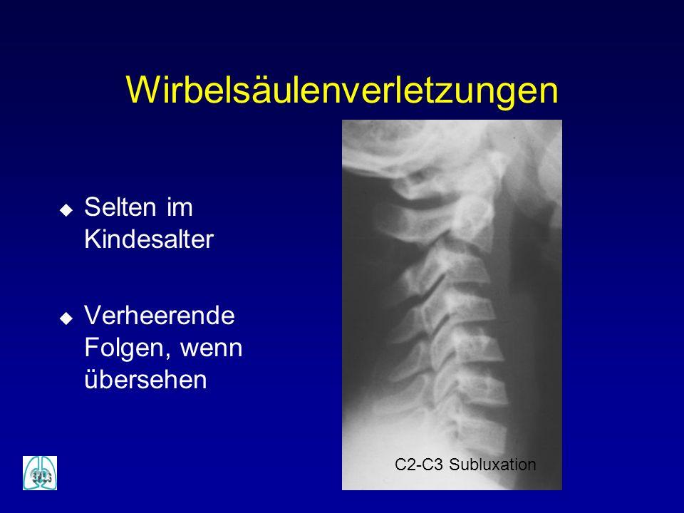 Wirbelsäulenverletzungen