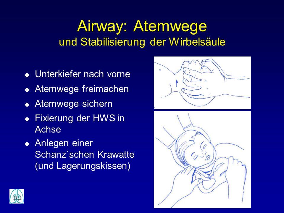 Airway: Atemwege und Stabilisierung der Wirbelsäule
