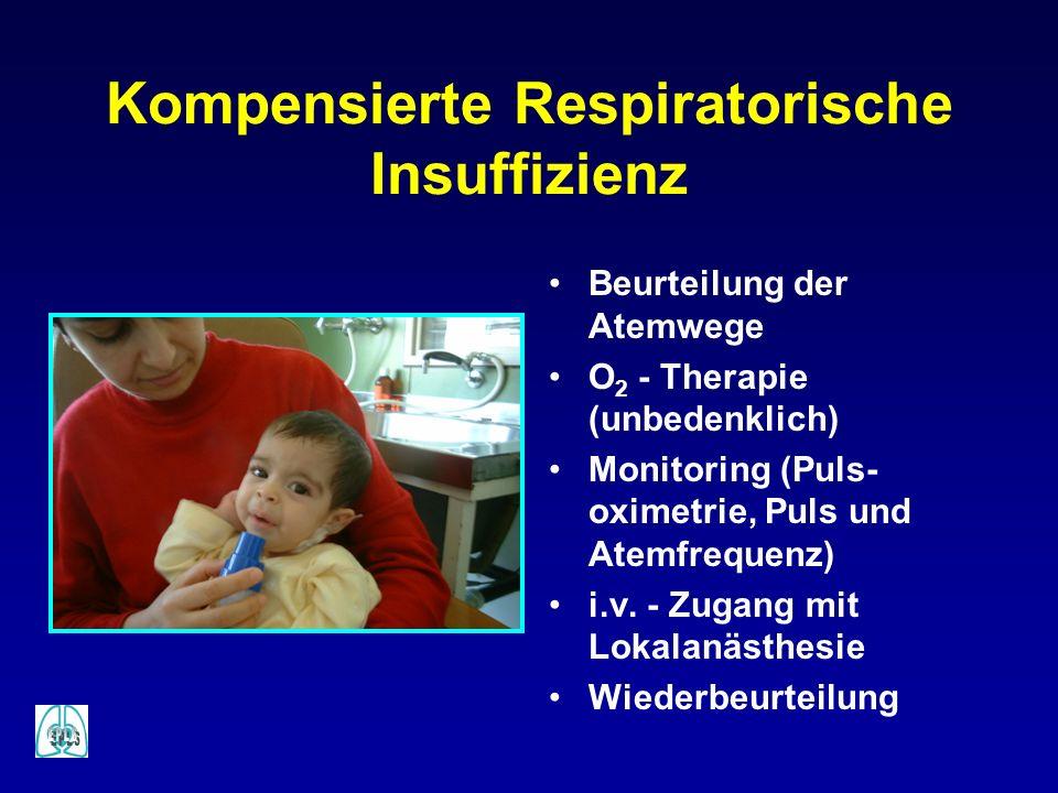 Kompensierte Respiratorische Insuffizienz