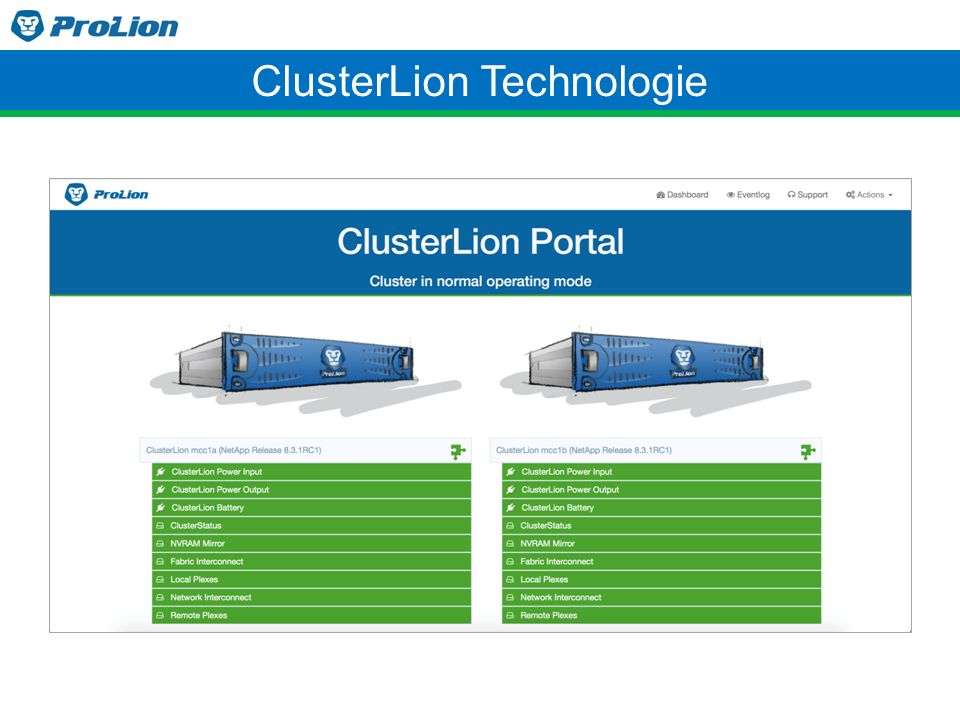 ClusterLion Technologie