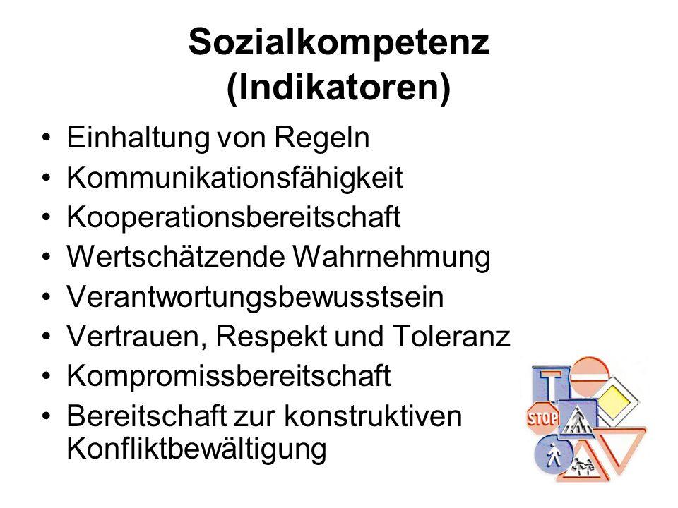 Sozialkompetenz (Indikatoren)