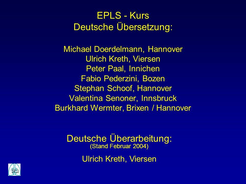 Deutsche Überarbeitung: (Stand Februar 2004) Ulrich Kreth, Viersen