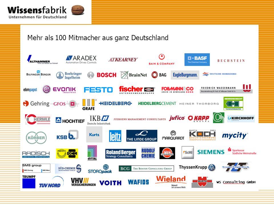 Mehr als 100 Mitmacher aus ganz Deutschland