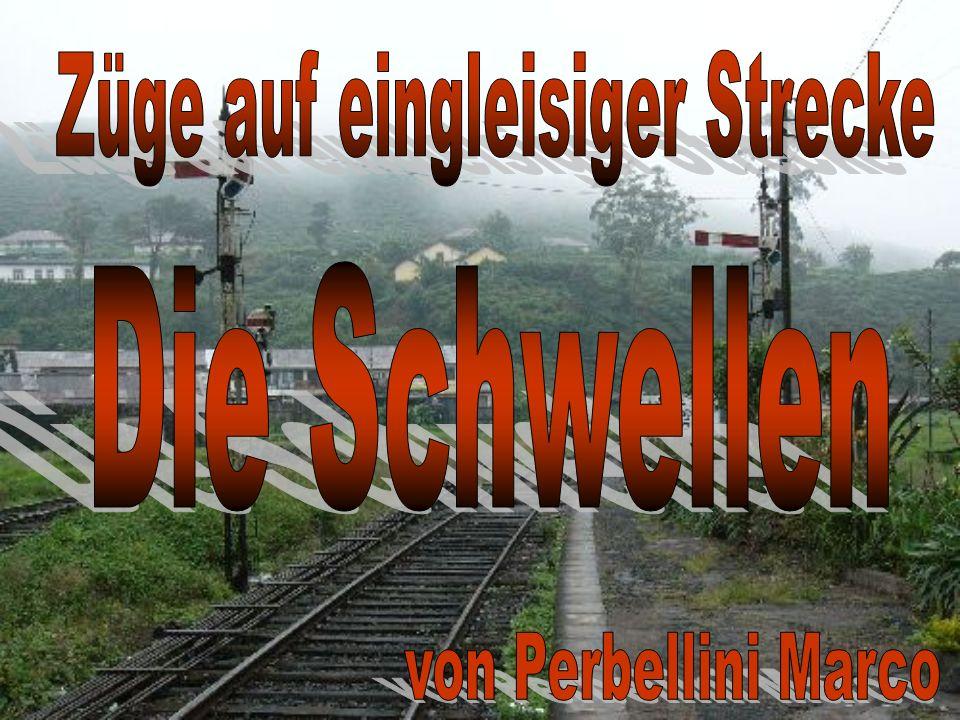 Züge auf eingleisiger Strecke