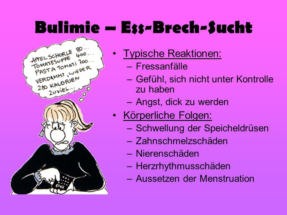 Bulimie – Ess-Brech-Sucht