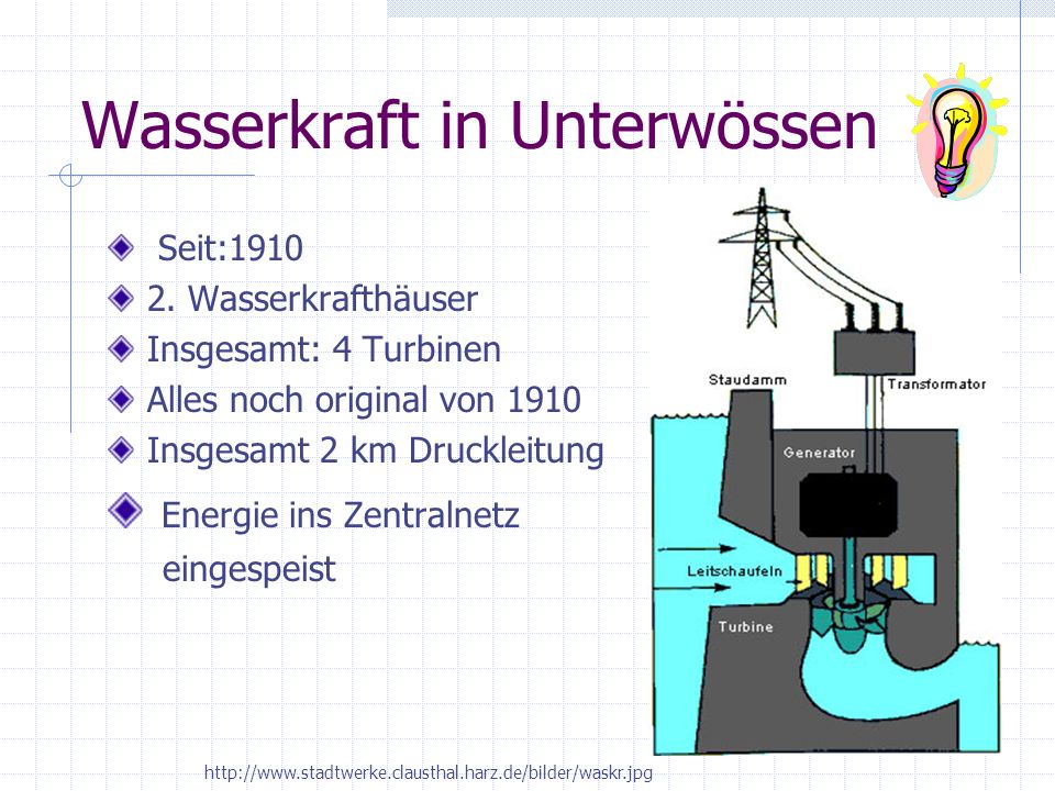 Wasserkraft in Unterwössen