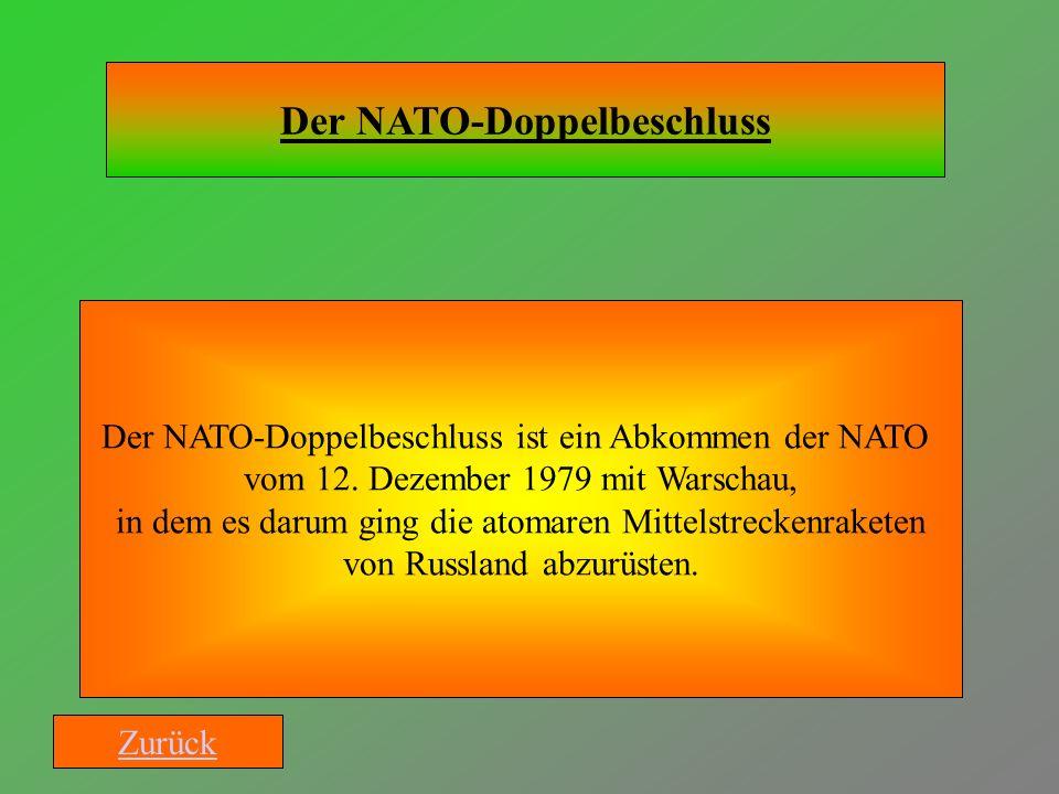 Der NATO-Doppelbeschluss