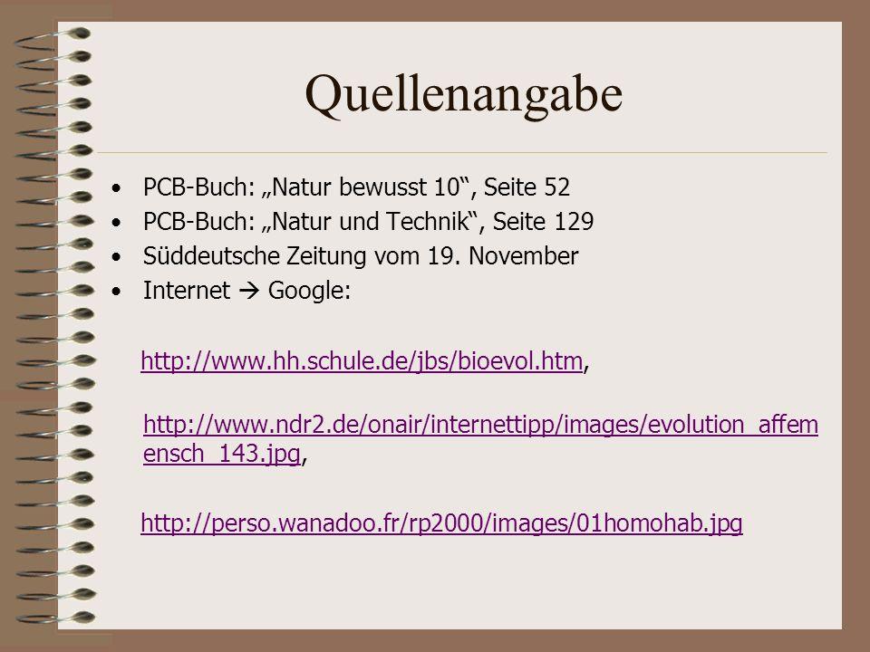 "Quellenangabe PCB-Buch: ""Natur bewusst 10 , Seite 52"