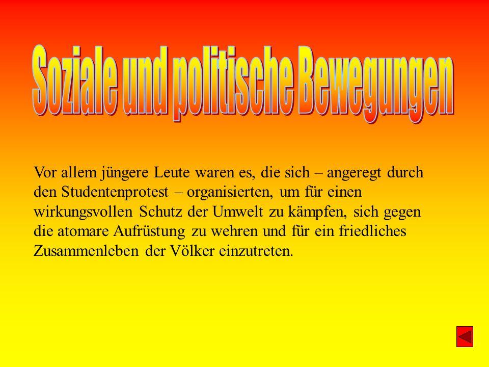 Soziale und politische Bewegungen