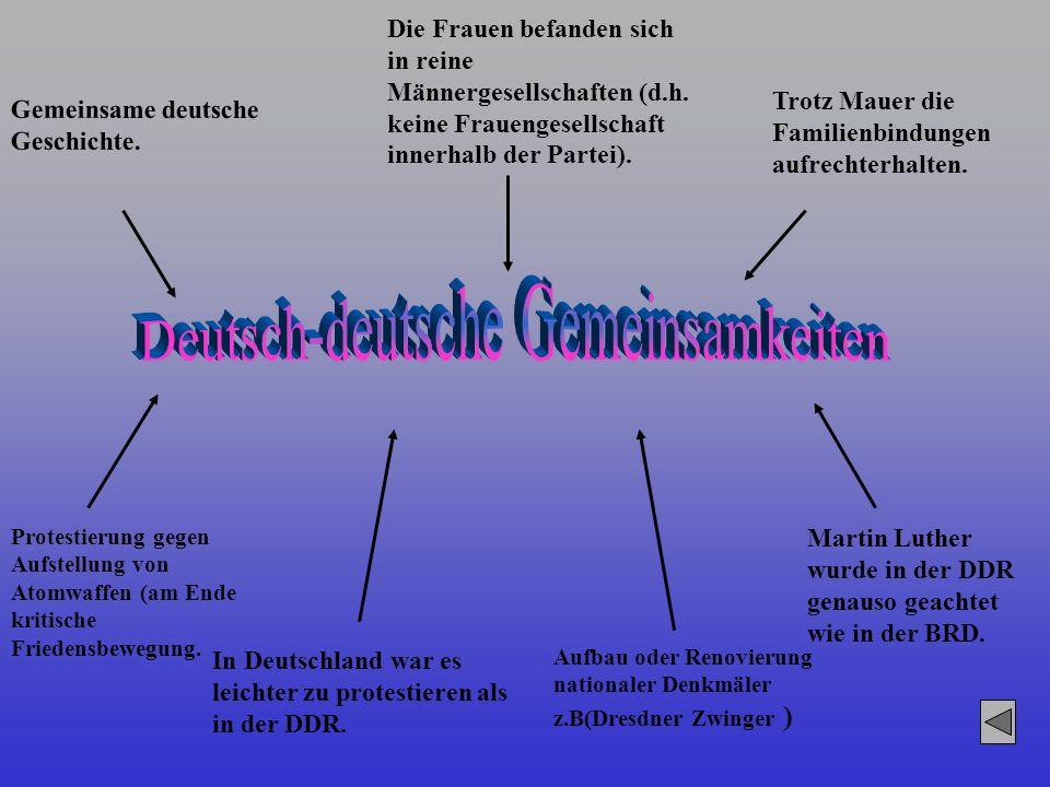 Deutsch-deutsche Gemeinsamkeiten