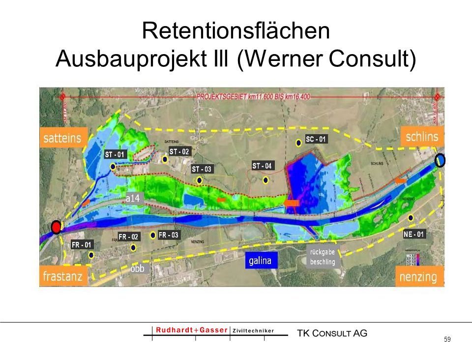 Retentionsflächen Ausbauprojekt Ill (Werner Consult)