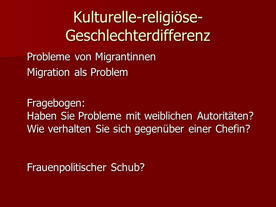 Kulturelle-religiöse-Geschlechterdifferenz