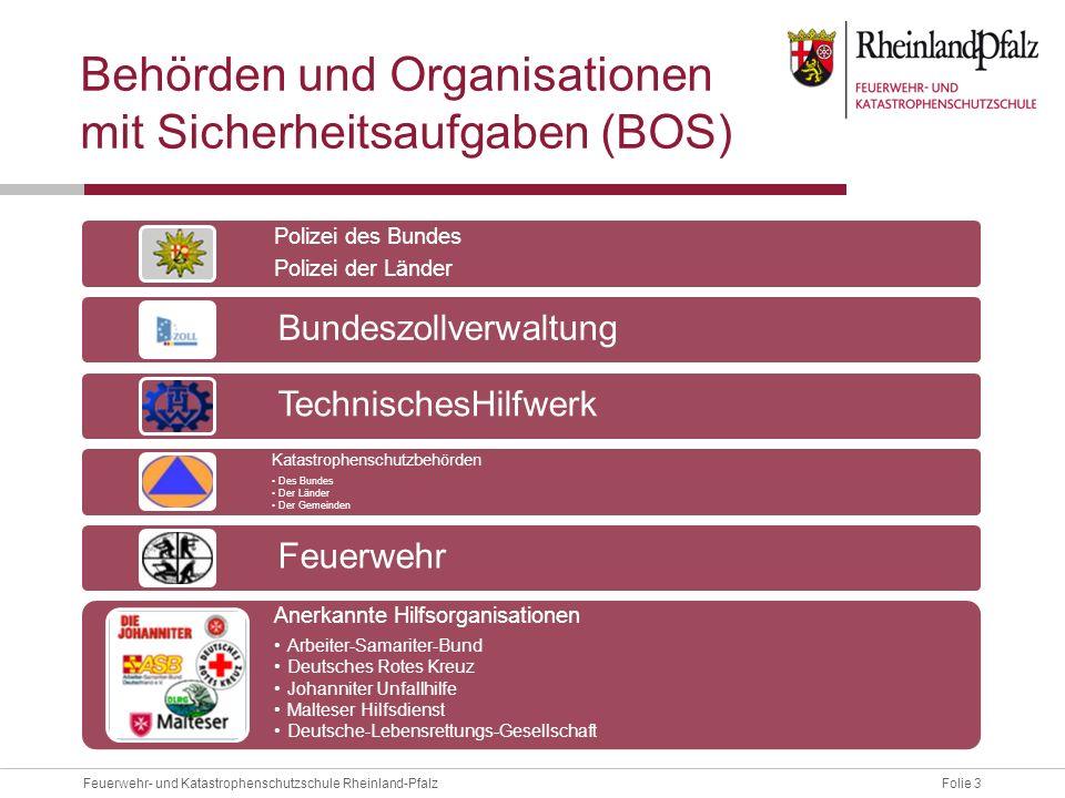 Behörden und Organisationen mit Sicherheitsaufgaben (BOS)