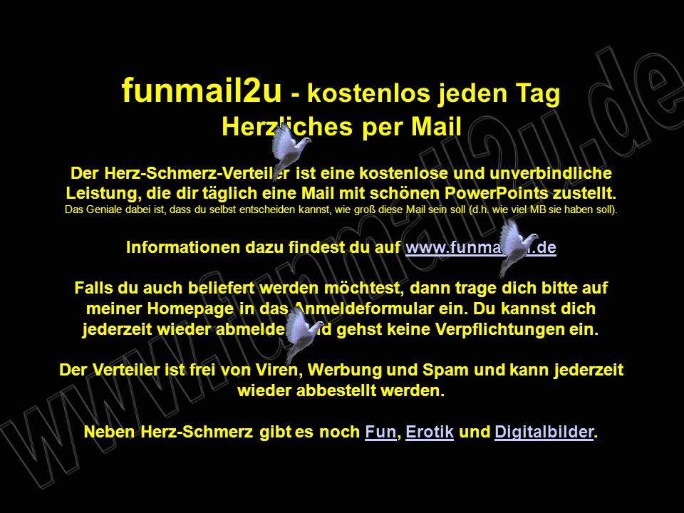 funmail2u - kostenlos jeden Tag Herzliches per Mail