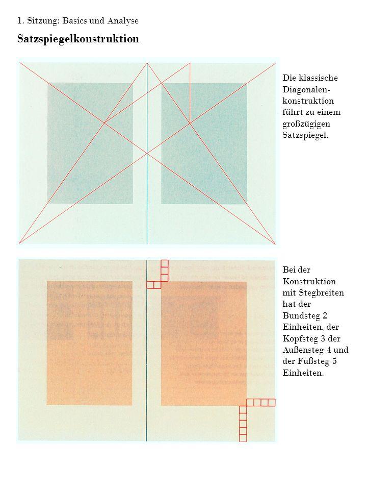 Satzspiegelkonstruktion