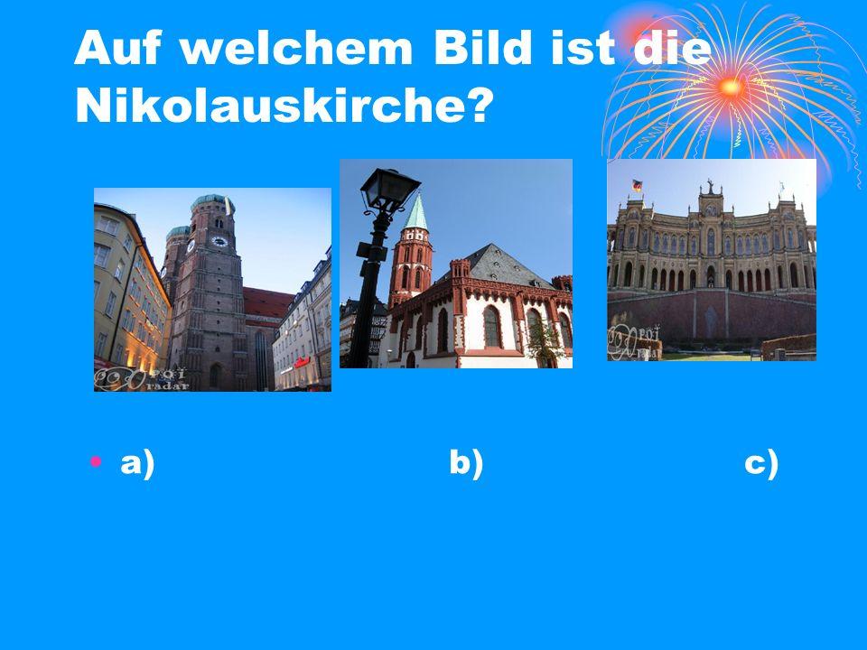 Auf welchem Bild ist die Nikolauskirche