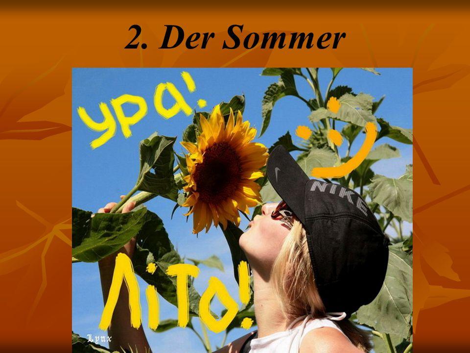 2. Der Sommer