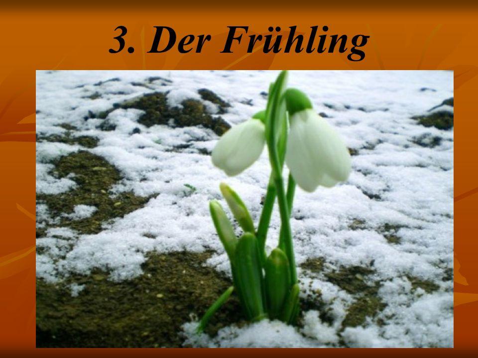 3. Der Frühling