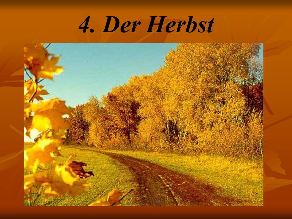 4. Der Herbst