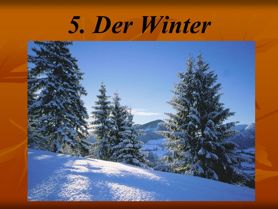 5. Der Winter