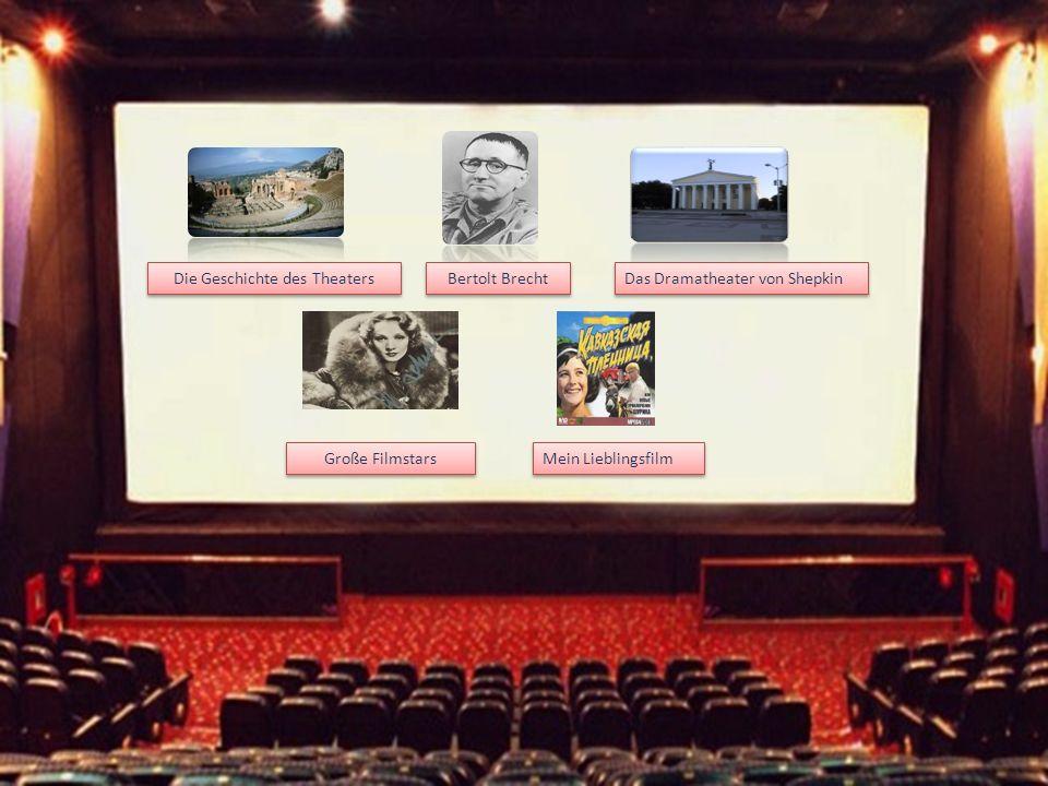Die Geschichte des Theaters
