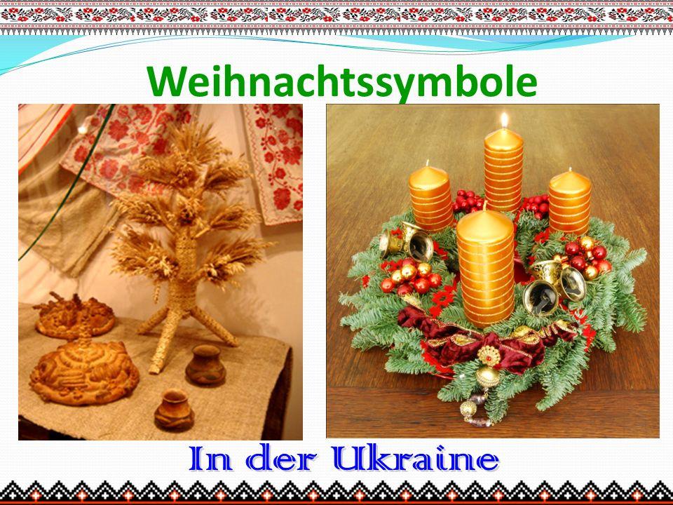 Weihnachtssymbole In der Ukraine