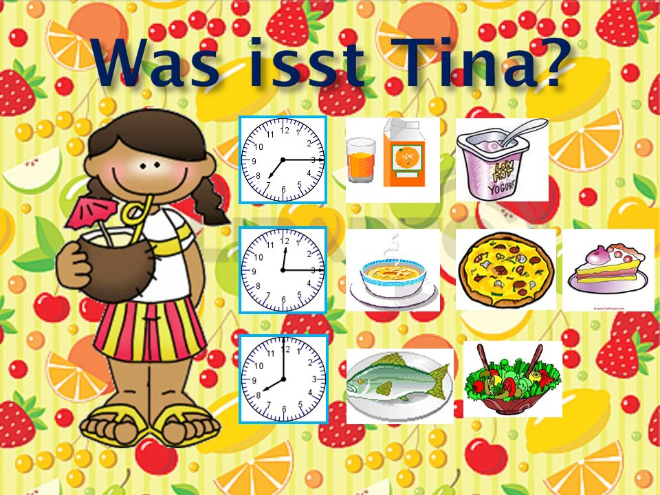 Was isst Tina