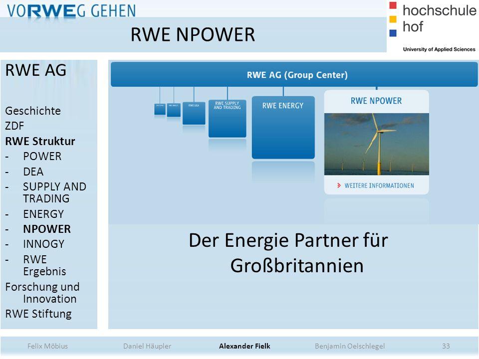 Der Energie Partner für Großbritannien
