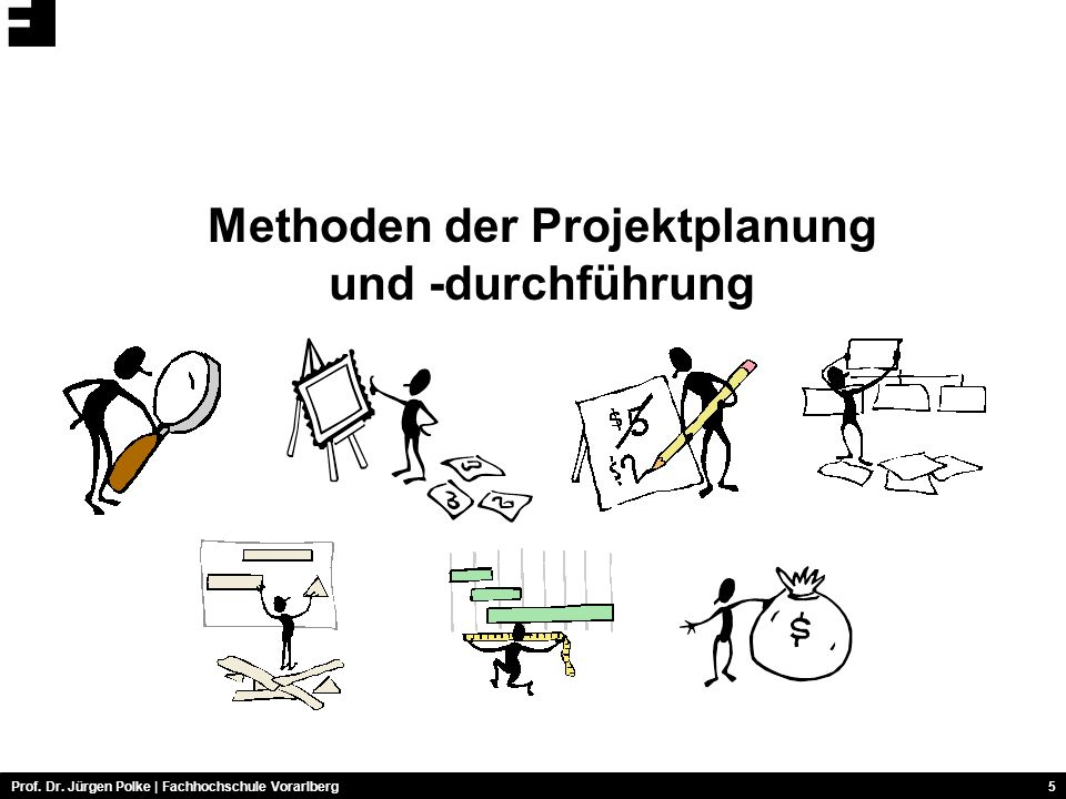 Methoden der Projektplanung und -durchführung