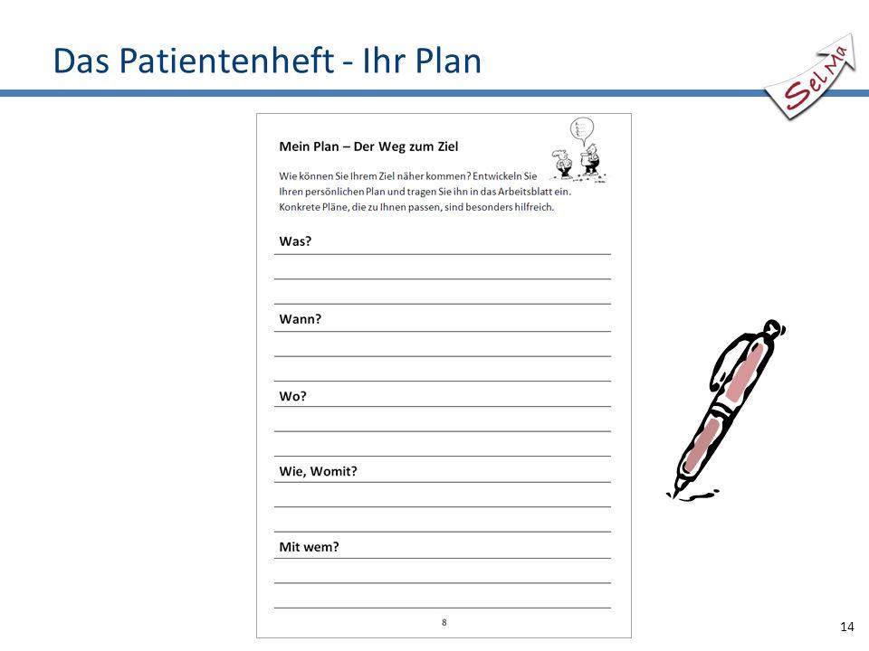 Das Patientenheft - Ihr Plan