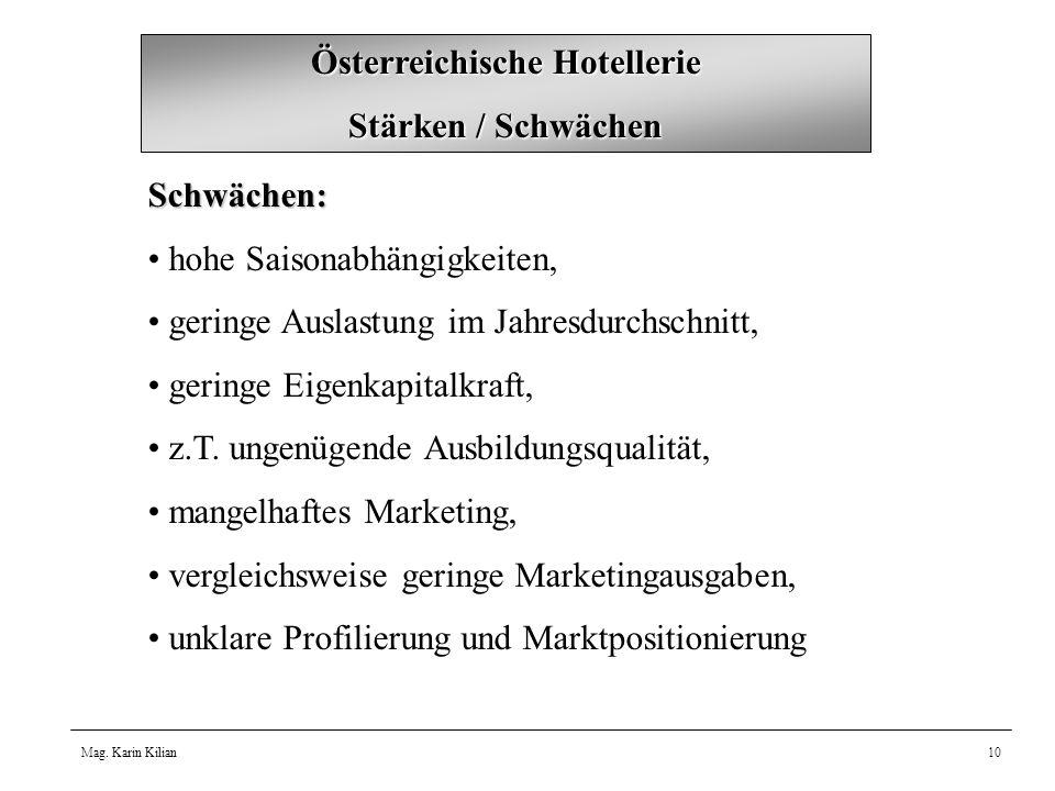 Österreichische Hotellerie