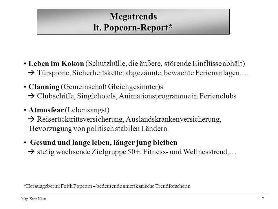 Megatrends lt. Popcorn-Report*