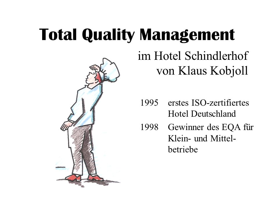 Total Quality Management in the Hospitality Industry