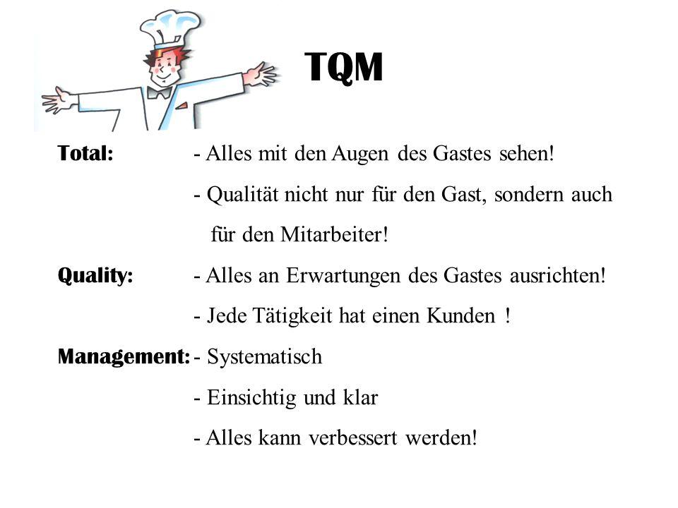 TQM Total: - Alles mit den Augen des Gastes sehen!