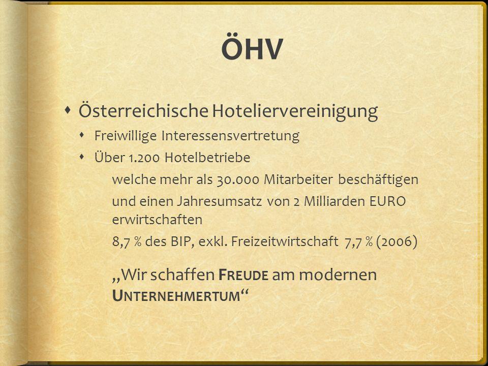 ÖHV Österreichische Hoteliervereinigung