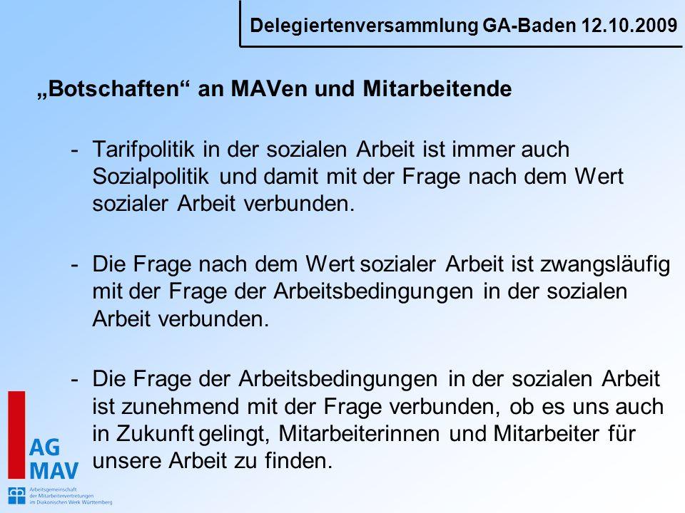 """""""Botschaften an MAVen und Mitarbeitende"""