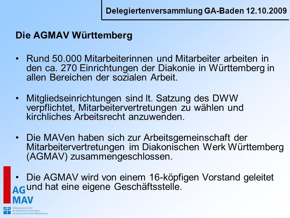 Die AGMAV Württemberg