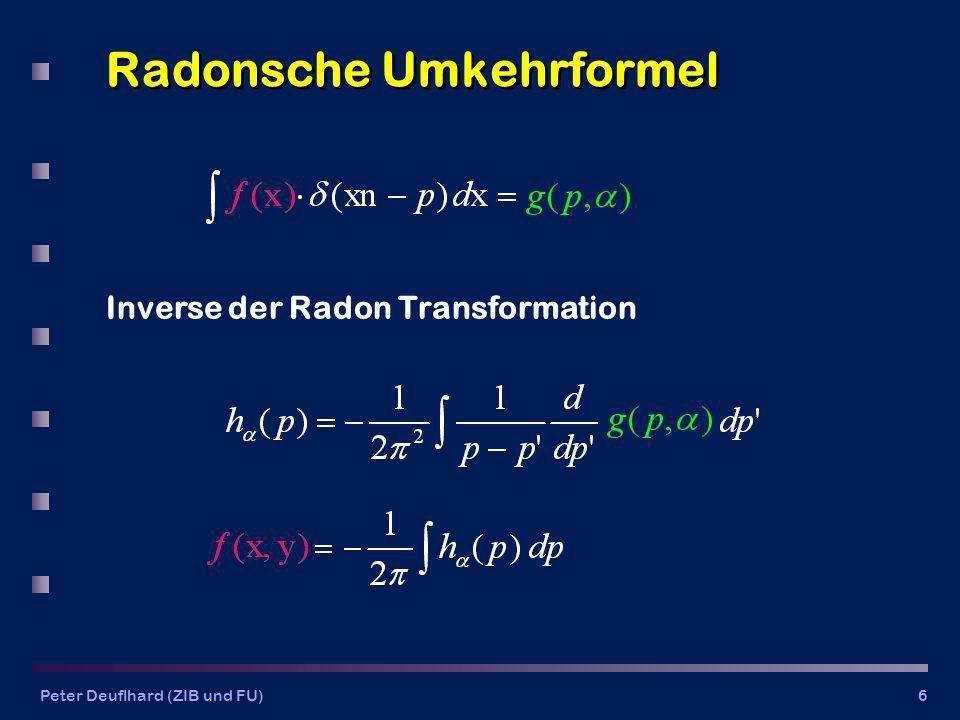 Radonsche Umkehrformel