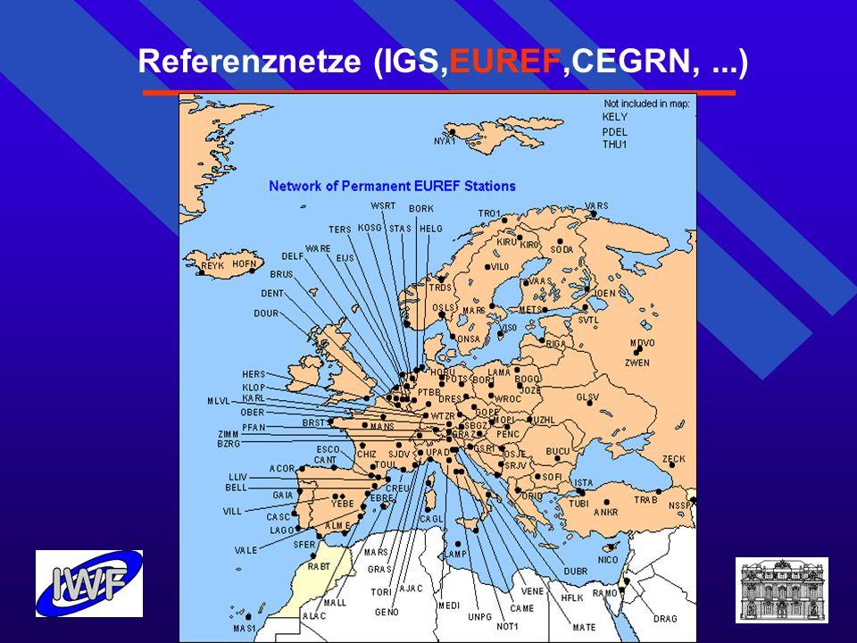 Referenznetze (IGS,EUREF,CEGRN, ...)