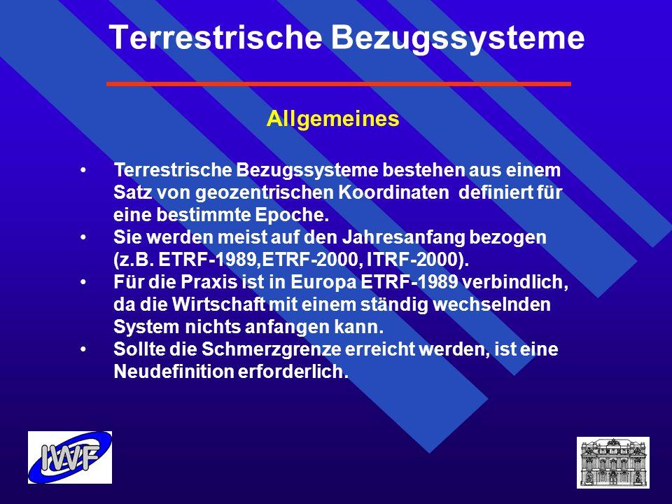 Terrestrische Bezugssysteme