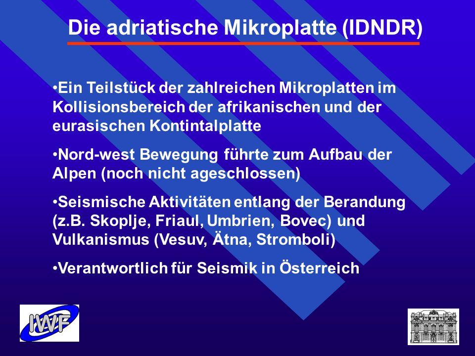 Die adriatische Mikroplatte (IDNDR)