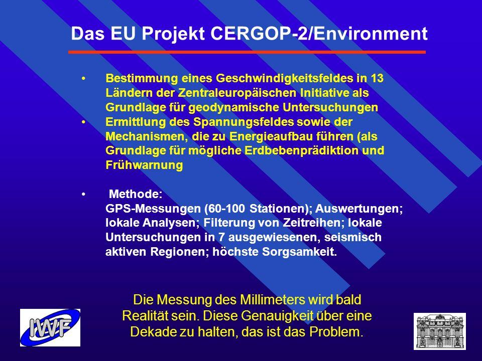 Das EU Projekt CERGOP-2/Environment