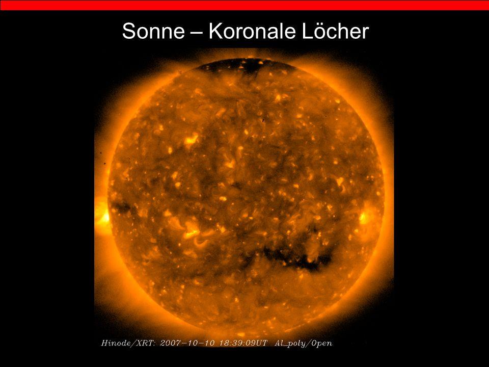 Sonne – Koronale Löcher