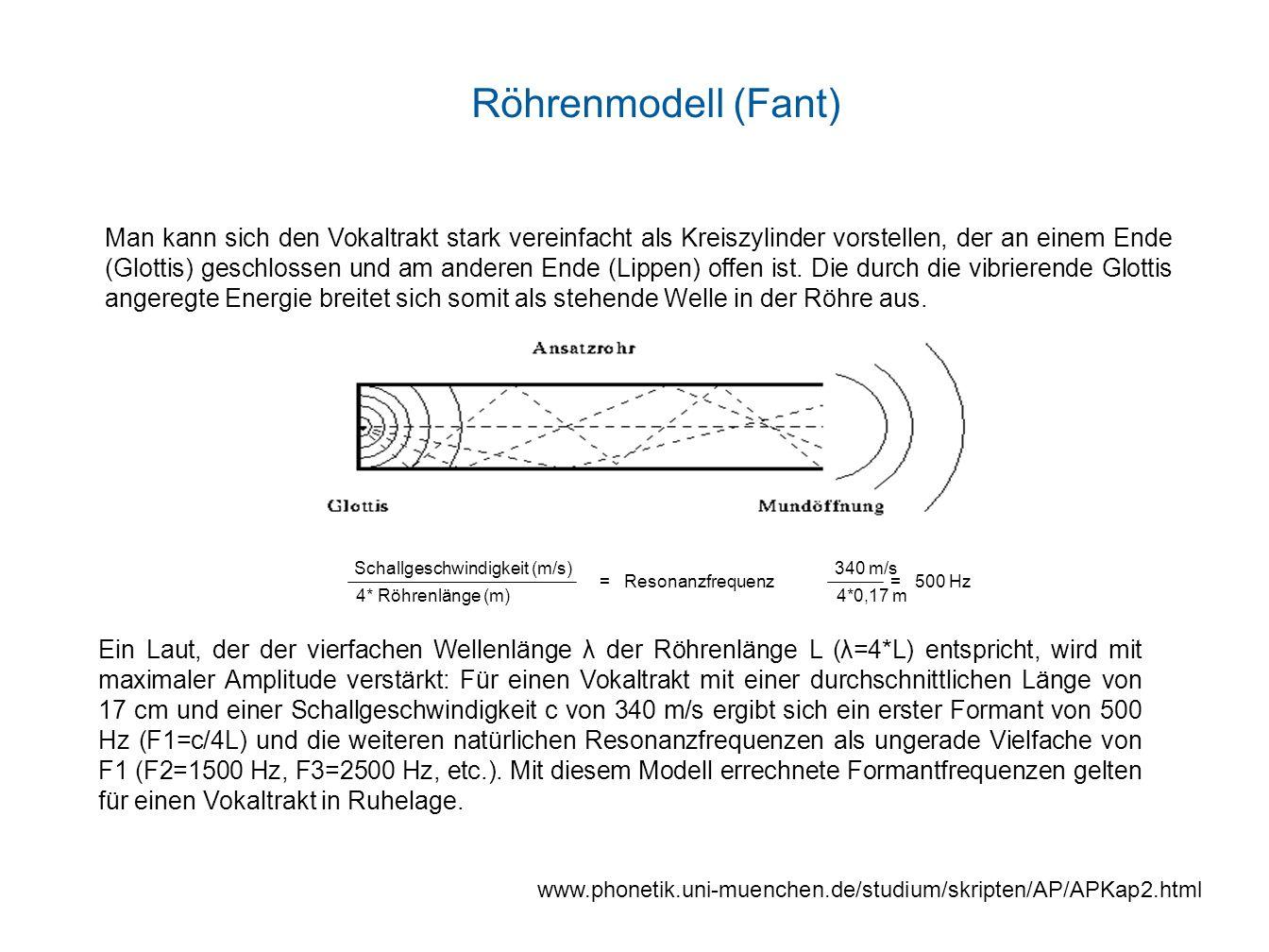 Röhrenmodell (Fant)
