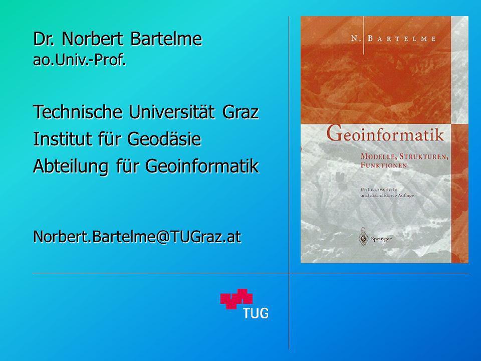Dr. Norbert Bartelme ao.Univ.-Prof.