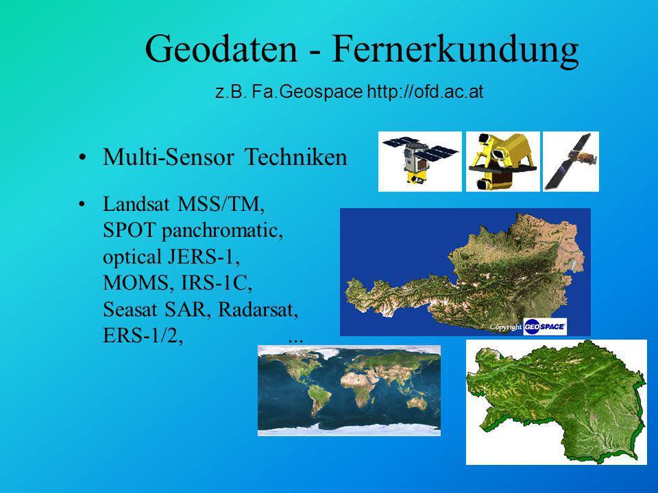 Geodaten - Fernerkundung