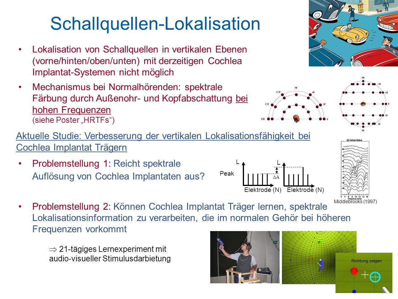 Schallquellen-Lokalisation