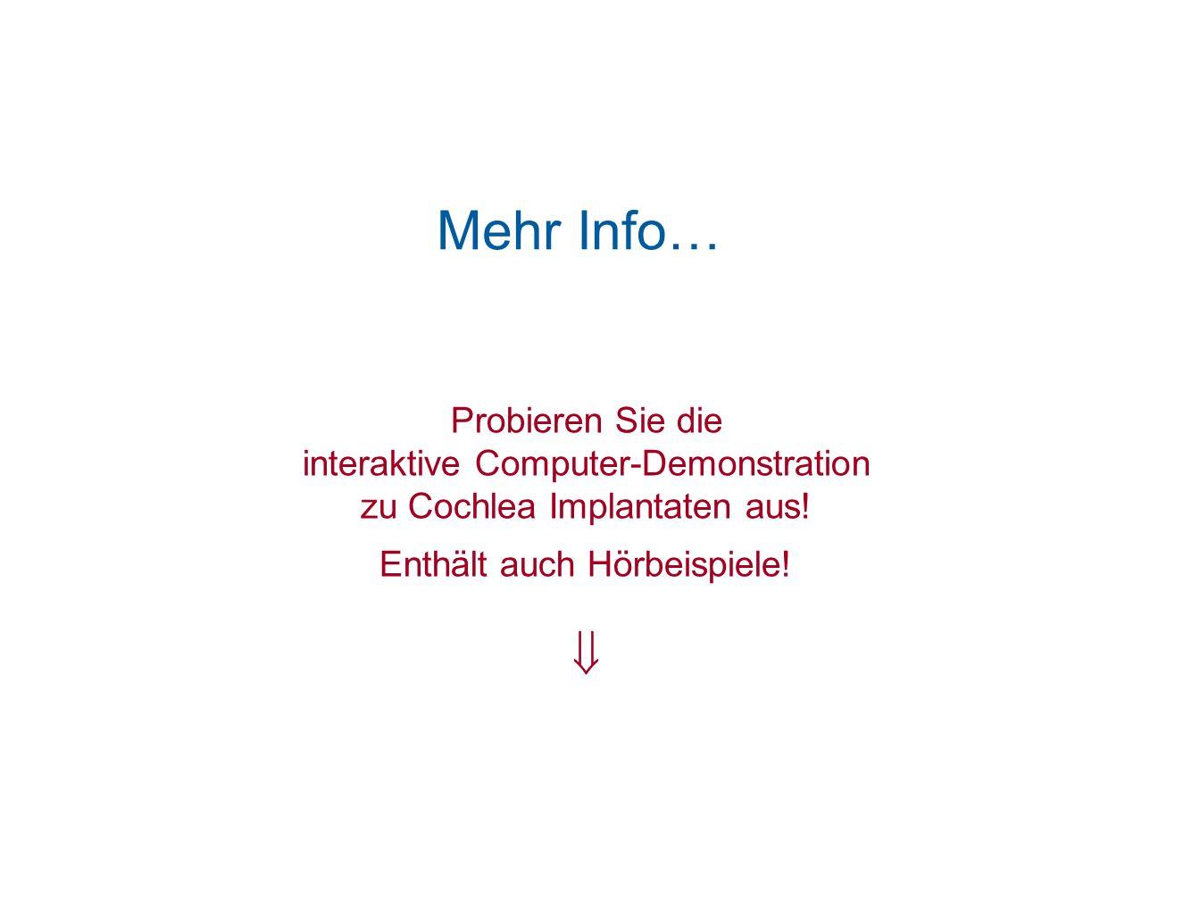 Mehr Info…  Probieren Sie die interaktive Computer-Demonstration
