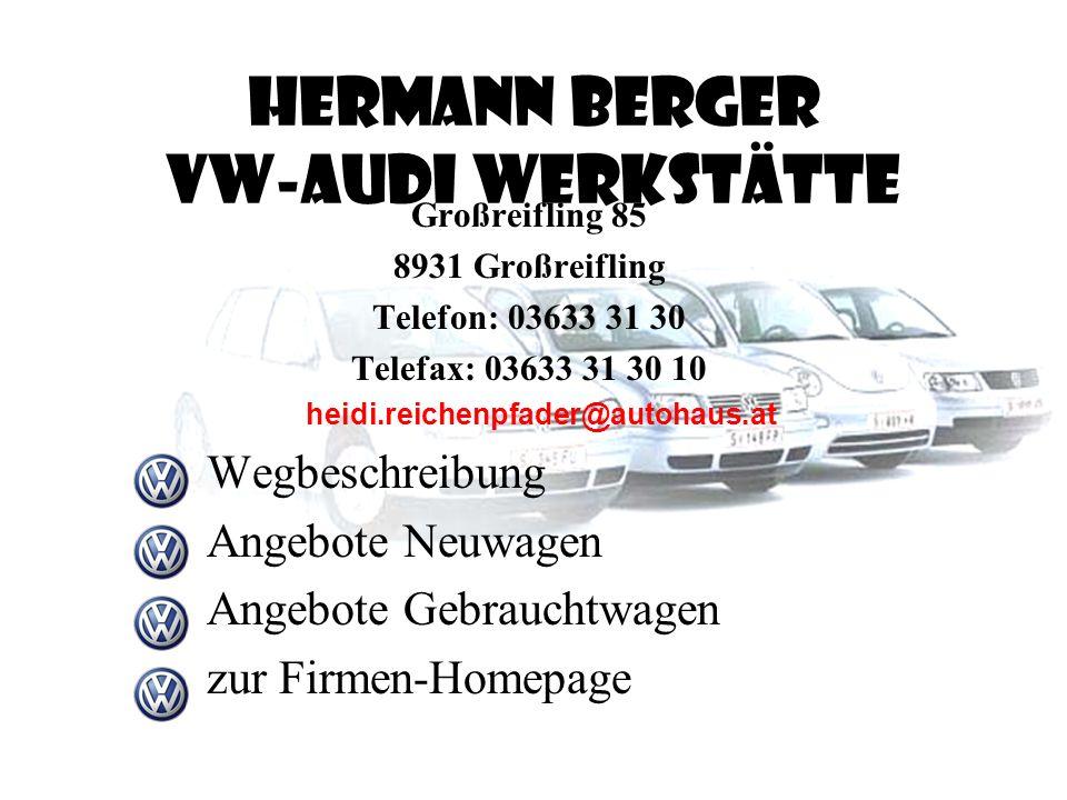 Hermann berger VW-AUDI Werkstätte